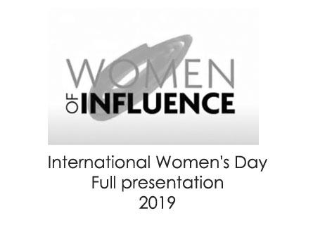 Kylie Sprott - International Women''s Day Presentation